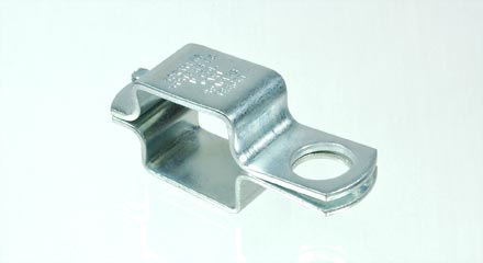 Threaded TeeJet nozzle body clamp for 1-1/4 inch square tubing, AA111SQ114