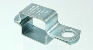 Threaded TeeJet nozzle body clamp for 1-1/2 inch square tubing, AA111SQ112
