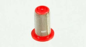 50 mesh nozzle strainer, poly/stainless steel