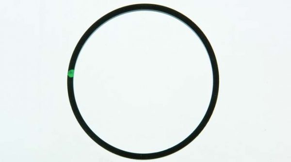Replacement gasket for 1 , 1-1/4 & 1-1/2 inch  Hypro strainer, Viton, 17000058