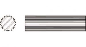Weasler PTO Shaft Domestic 6 Series 1 inch - 15 Spline, 4041615H