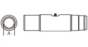 PTO Slip Sleeve Domestic 35 Series 1-11/16 inch - 20 Spline Bore, 5033500