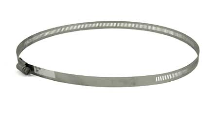 Stainless Steel screw hose clamp, 8in - 10in, 63152