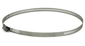 Stainless Steel screw hose clamp, 12in - 16in, 63248