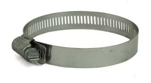 Stainless Steel screw hose clamp, 2-1/2in - 3-1/2in, 6848