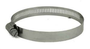 Stainless Steel screw hose clamp, 3in - 4-1/2in, 6864