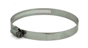 Stainless Steel screw hose clamp, 3in - 5in, 6872