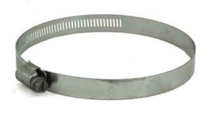 Stainless Steel screw hose clamp, 4in - 6in, 6888