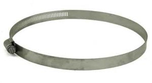 Stainless Steel screw hose clamp, 4in - 8-1/2in, 63128