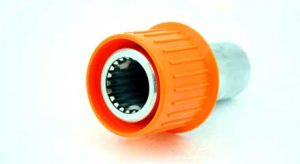 "Quick Coupler PTO 1-3/8""-21 Spline Adapter for 6500 6-Roller Pump, 13230075"