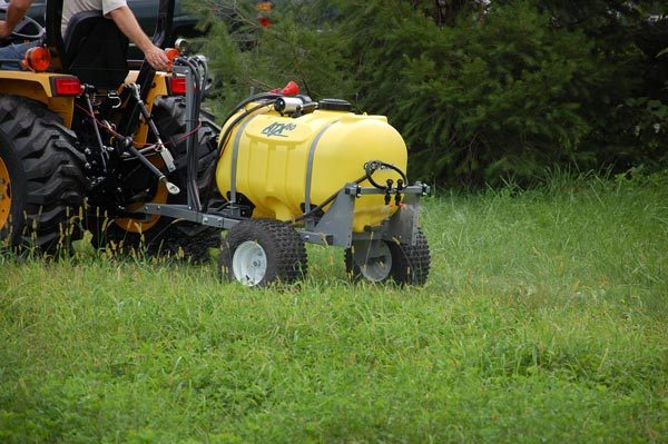 ATX sprayer - trailer kit shown with boomless nozzles