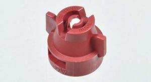 XRC11004VK Extended Range Flat Fan Tip, Ceramic - Red