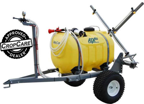 trailer sprayer, 60 gallon