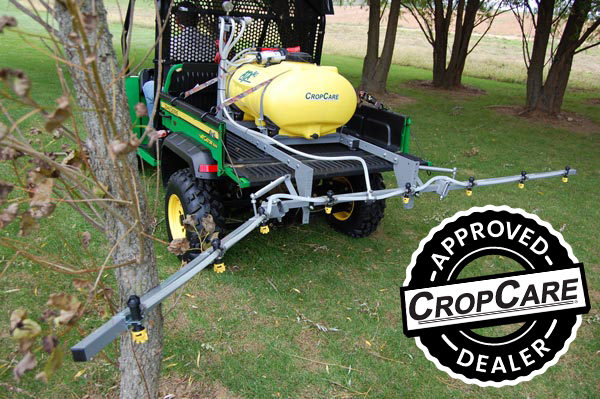 ATX sprayer - trailer kit with 12 foot breakaway boom