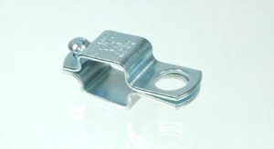 Threaded TeeJet nozzle body clamp for 1 inch square tubing, AA111SQ1