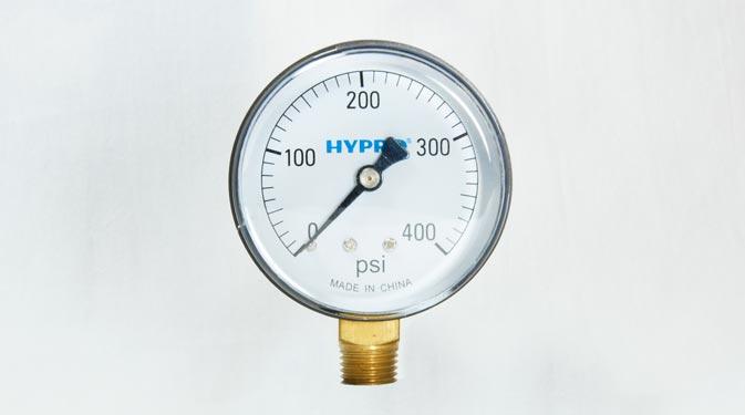 Fresh Water Systems Bottom Mount Pressure Gauge