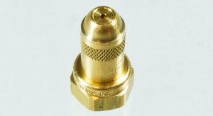 straight brass spray nozzle, 5500X26