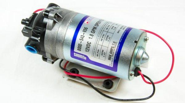 12V Shurflo Diaphragm Pump, 1.8GPM 8000-543-936