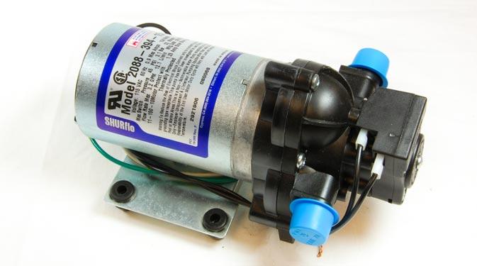 110v Shurflo Diaphragm Pump 3 2gpm