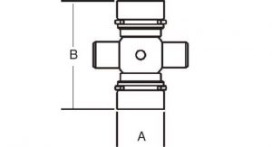 Weasler PTO Cross & Bearing Kit North American #6 Series, 2000600
