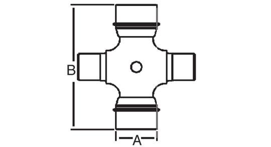 Cross Bearing Sizes : Weasler pto cross bearing kit north american series