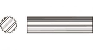 Weasler PTO Shaft Domestic 14 Series 1-5/16 inch - 20 Spline, 4042120