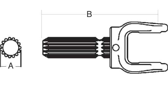Series 1 PTO Inner Bearing