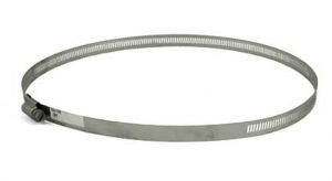 Stainless Steel screw hose clamp, 10-1/4in - 12-1/4in, 63188