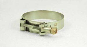 Stainless Steel T-bolt hose clamp, 2-7/8in - 3-3/16in, TB288