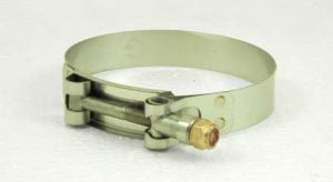 Stainless Steel T-bolt hose clamp, 3-1/2in - 3-7/8in, TB350