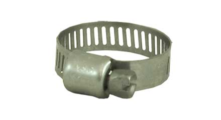 Stainless Steel screw hose clamp, 5/16in - 7/8in 62606