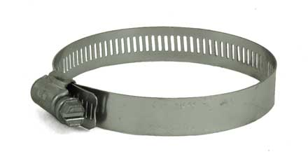 Stainless Steel screw hose clamp, 2-1/4in - 3-1/4in 6844
