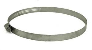 Stainless Steel screw hose clamp, 4in - 7in, 68104