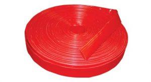 2in Heavy Duty Red Flatlay Hose, 4120