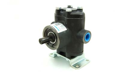 Hypro 'Small Twin' Piston Pump, Solid Shaft, 5330CX