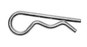 Hitch Pin Clip 1/4in (.243) x 5-1/8in