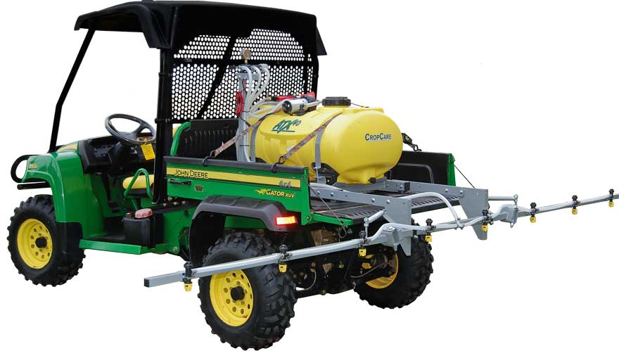 ATX sprayer with skid kit