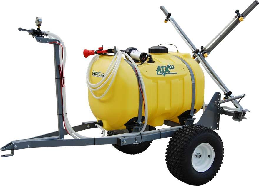 ATX sprayer with trailer kit