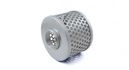Zinc coated 2in Steel Suction strainer, 44281