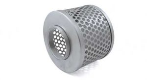 Zinc Coated 3in Steel Suction strainer, 44283