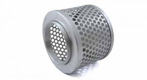 4in Zinc Coated Steel Suction strainer, 44284