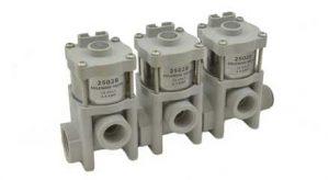 2502B 2-Way Solenoid Valve Three valve unit, 2502B-3