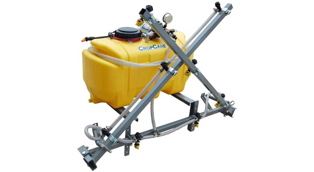 25 Gallon ATV Sprayer with 12 foot manual-fold boom, ATV25B