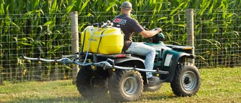 small sprayer for farm and lawn use