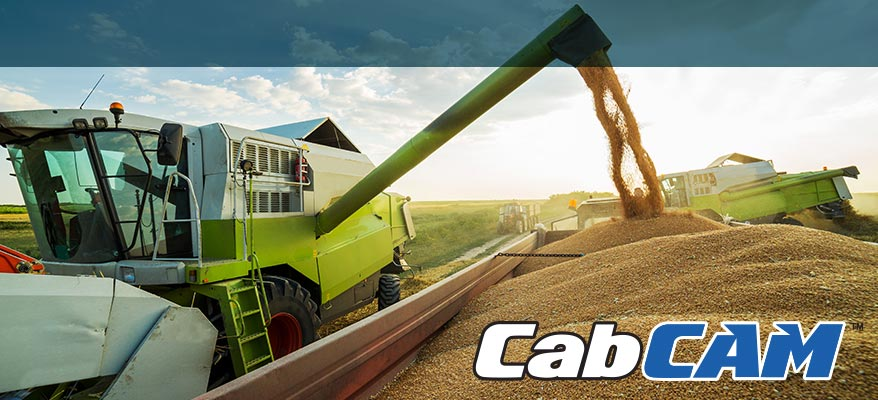tractor camera, observation camera, cabcam, cab camera, equipment camera