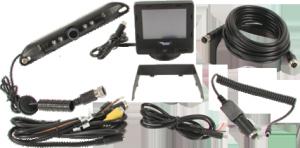 CabCam, camera observation system, tractor camera, truck cab camera, mounted cab camera