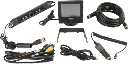 CabCam, camera observation system, tractor camera, truck cab camera, mounted cab camera