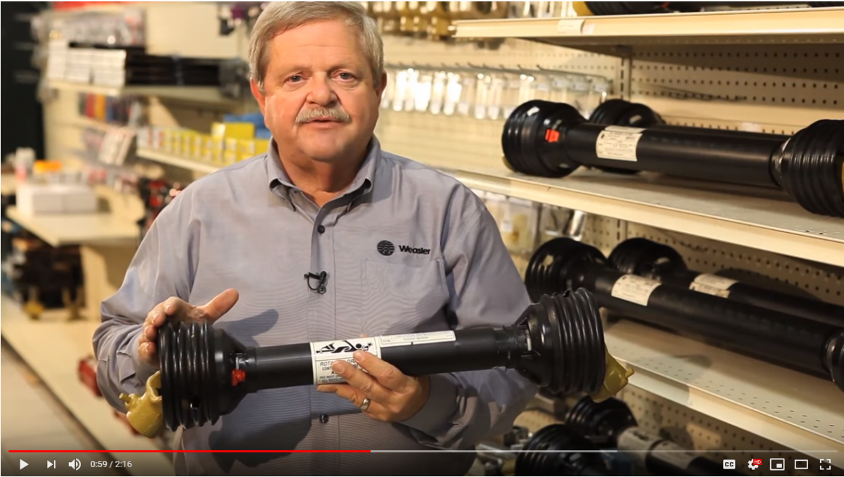 How To Size Your PTO Shaft Image